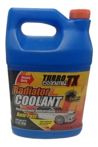 Refrigerante Coolant Turbo Tx Naranja Para Vehículos