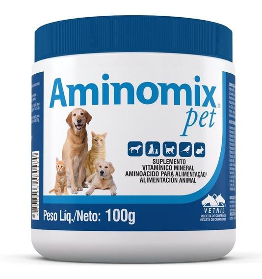 Complexo Vitamínico Aminomix Pet - 100 G