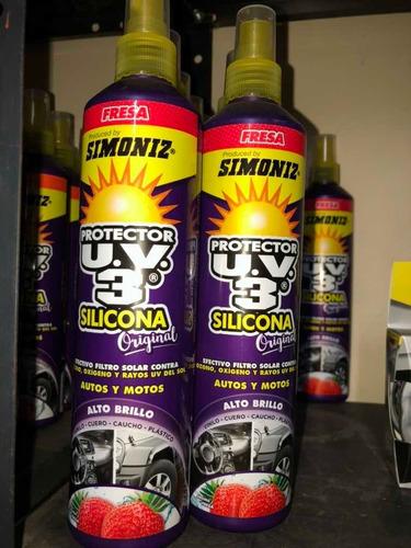Silicona Uv3 Abrillantador Automóviles Partes Plásticas