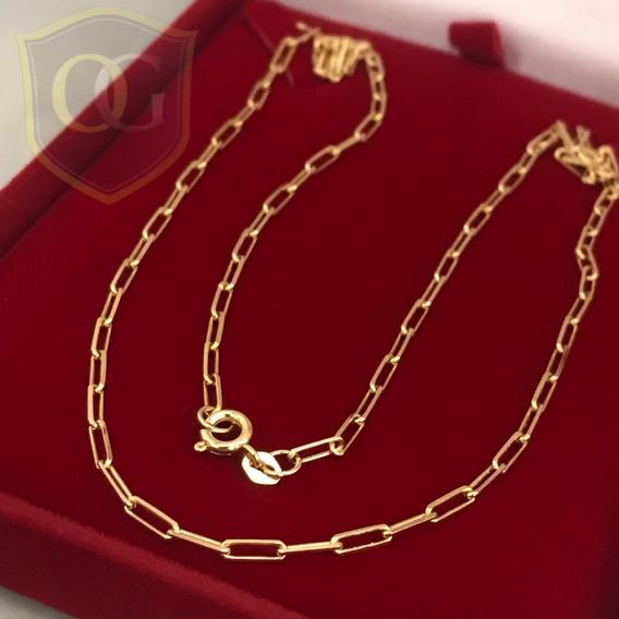 Cordão Cartier 5.8 Gramas Em Ouro18k