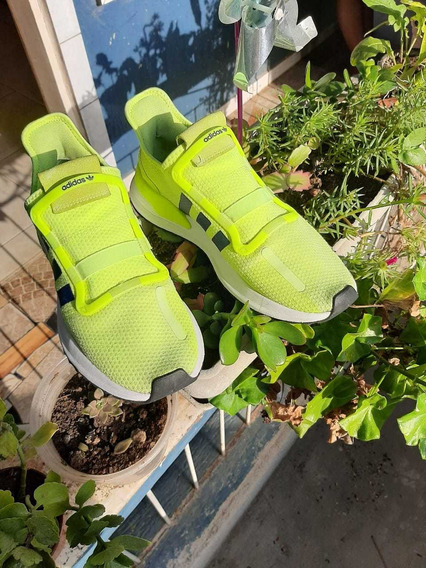 Tênis adidas Original U Path Run Verde Neon