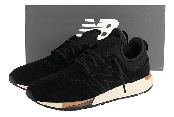 Tenis Masculino New Balance 247 Luxe - Couro