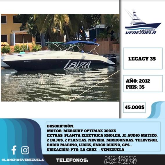 Lancha Legacy 35 Lv382