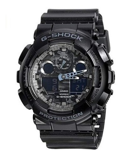 Reloj Casio G-shock Analog Dial Digital Black Resin