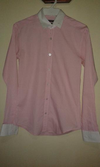 Camisa Urban Uptown Talla M Slim Fit Cuello 14-14 1/2