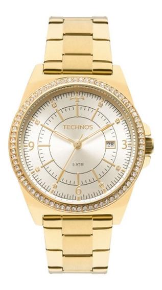 Relógio Technos Swarovisk Elegance Ladies 2115mmo/4x