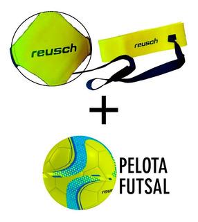 Kit Entrenamiento Reusch + Pelota Futsal Nº4 Futbol Arquero