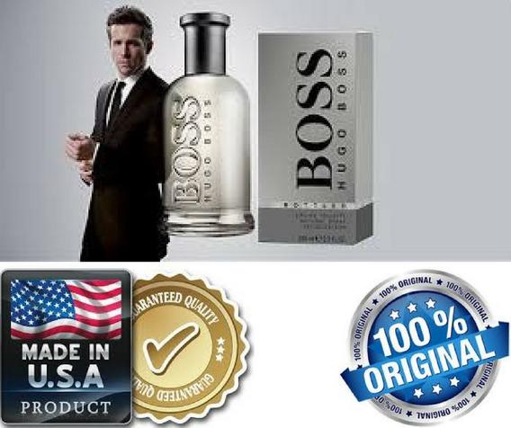Perfume Hugo Boss Bottled Cinza 100ml - Original E Lacrado
