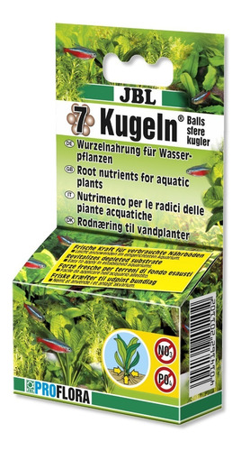 Imagem 1 de 1 de Jbl Proflora 7 Kugeln (fertilizante Adicional)
