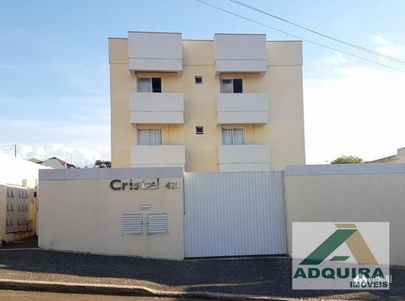 Apartamento Padrão Com 2 Quartos No Residencial Cristal - 8374-v