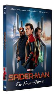 Spiderman Lejos De Casa - Far From Home - Dvd Latino/ingles