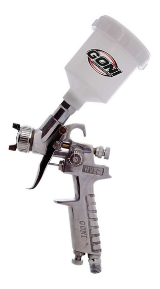 Pistola Mini De Gravedad Hvlp Vaso De 150cc 353 Goni