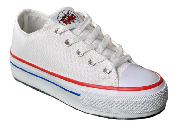 Zapatillas Lona Roller 901 Simil Converse All Star Simona