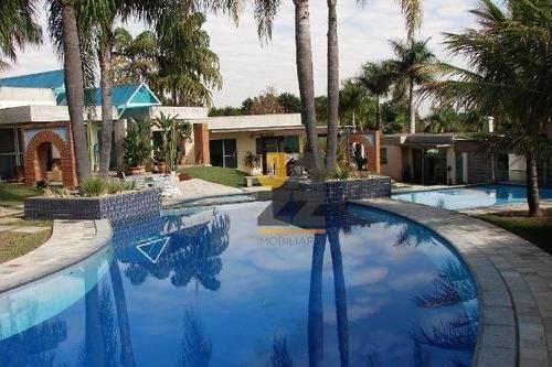 Maravilhosa Chácara Com 5 Dormitórios (suites) À Venda, 7800 M² Por R$ 5.500.000 - Recanto Das Flores - Indaiatuba/sp - Ch0689