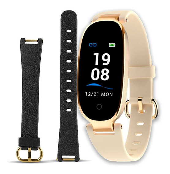 Nuevo Smart Watch Reloj Inteligente S3 Plus A Color Dama