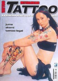 Revista Metalhead Tattoo 38 Tatuagem Akemi