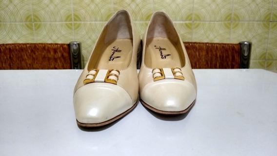 Zapatos De Dama - Alonso - Estilo Fiesta - Impecables