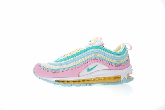 Nike Air Max 97 Candy Rainbow Pastel Rosado