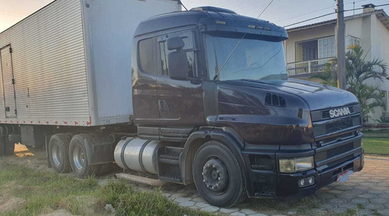 Scania T 124 420 6x2 Ano 2001