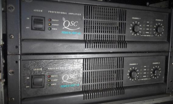 Amplificador Qsc Powerligth 4.0