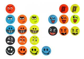 7 Antivibradores Pros Pro Funny Face. Pack De 7 Unidades.