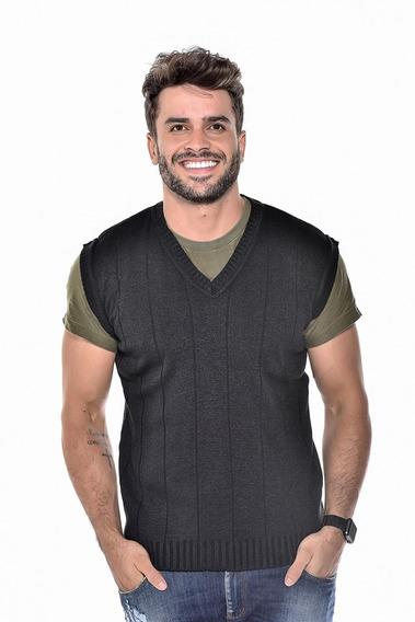 Colete De Lã Para Usar Com Terno E Camisa Social Ref 127