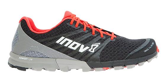 Tenis Hombre Inov8 Gris/rojo Carrera Montaña Trailtalon 250