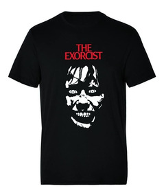 Camiseta Estampada Halloween Exorcista
