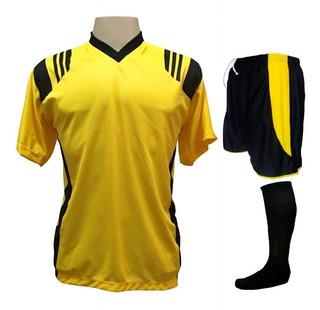 Fardamento Esporte Futebol Brasileiro Flamengo Compre-15 Pçs