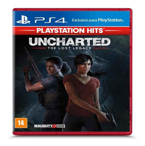 Uncharted The Lost Legacy Ps4 Mídia Física Novo Em Português