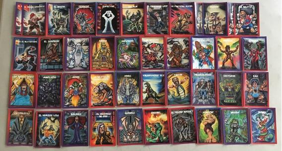 Tarjetas Monstruos De Bolsillo Originales
