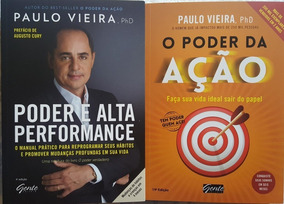 O Poder Da Ação + Poder E Alta Performance Kit Paulo Vieira