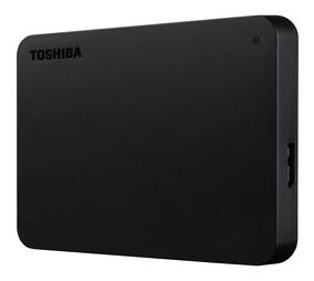 Hd Externo 2tb Toshiba Canvio Basics, 2,5 , Usb 3.0, Preto