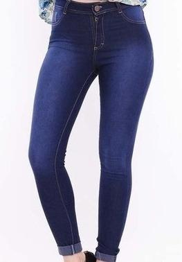 Pantalon Jeans Elaztizado Mujer Chupin Tiro Alto Talles Chicos Y Especiales Del 36 Al 56 Directo De Fabrica