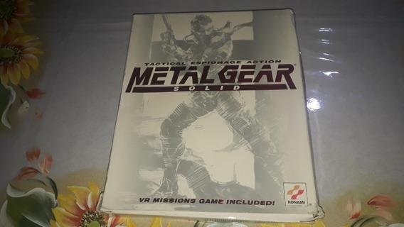 Jogo Metal Gear Solid 1 Pc Americano Original