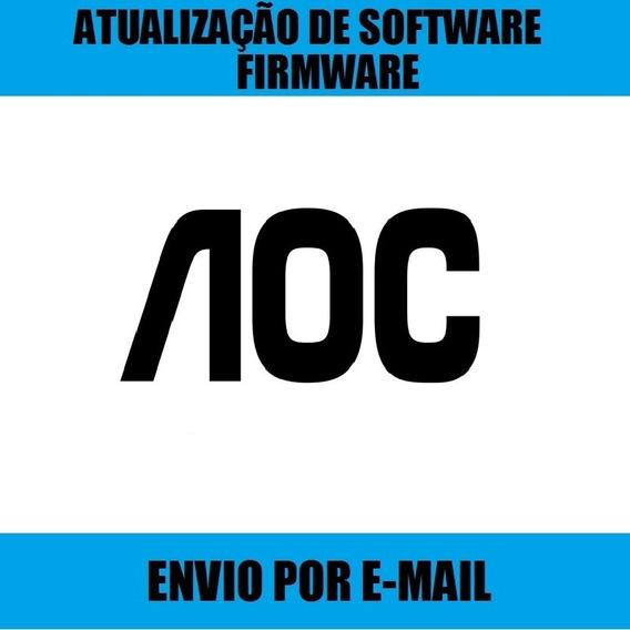 Atualização De Software Tv Aoc Le24d1461 Com Bga Trava Logo