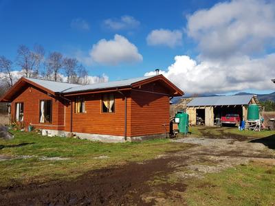 Parcela Villarrica 6.500 M2, Casa Y 3 Cabañas, Acceso A Río