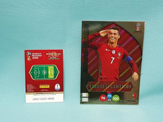 Cards Xxl Copa 2018 Limited Edition Cristiano Ronaldo Cr7