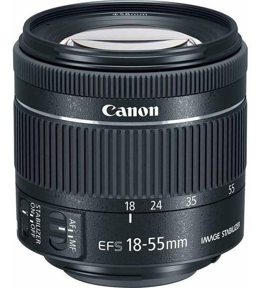Lente Canon Ef-s 18-55mm F/4-5.6 Is Stm C/ Nf-e +garantia