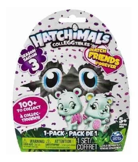 Hatchimals Serie 3 - Saquinho Surpresa Ovo Surpresa Sunny