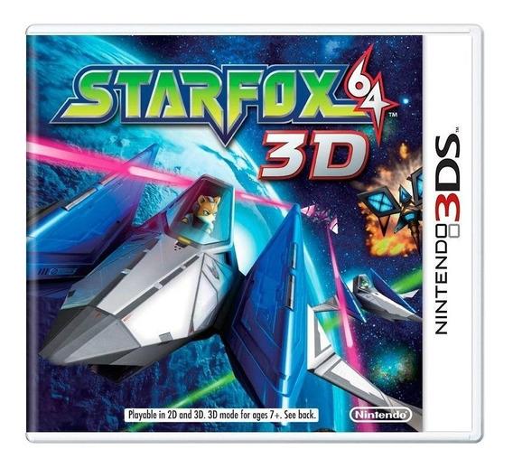 Star Fox 64 3d 3ds Mídia Física Pronta Entrega