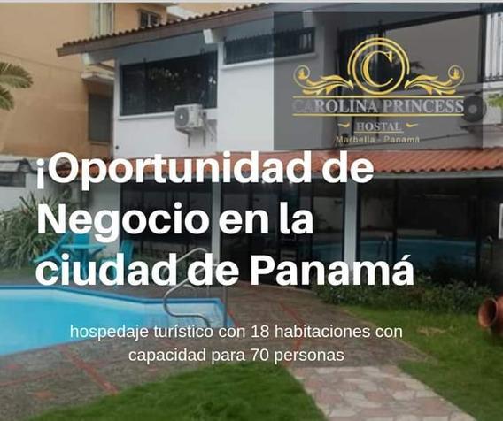 Venta De Hostal Marbella Panamá, Oportunidad De Negocio