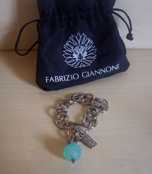 Pulseira Com Pedra Em Água Marinha - Fabrizio Giannone