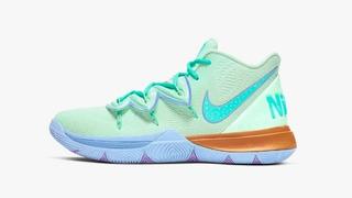 Zapatillas Tenis Nike Kyrie 5 Lrving Bob Esponja Hombre 2020