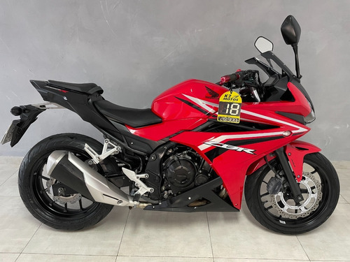 Honda Cbr500r 2018 Farol Em Led, Freio Abs, Pneu Novo