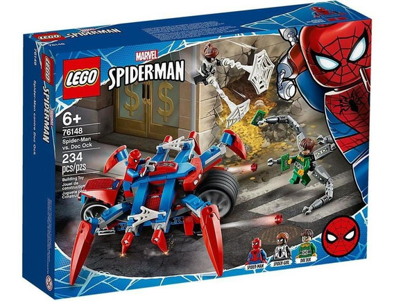 Lego Marvel Super Heroes Spider-man Vs. Doc Ock 76148