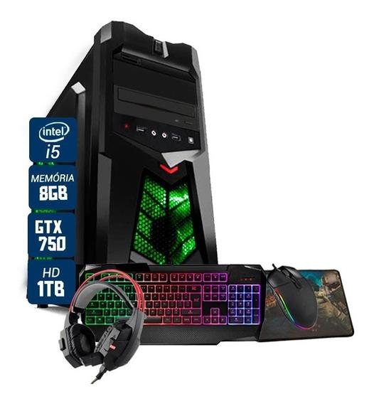 Pc Gamer Maximus Intel I5 Gtx 750 8gb Hd 1tb Wi-fi