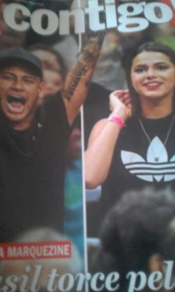 Revista Contigo Neymar Bruna Marquezine Xuxa