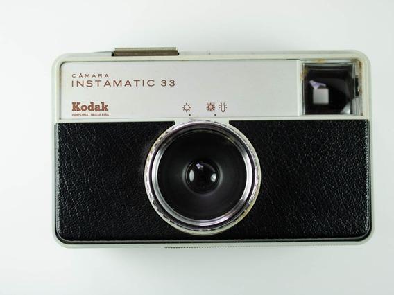 Câmera Fotográfica Analógica Kodak Instamatic 33