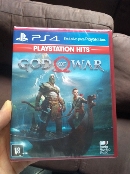 God Of War 4 Ps4 Lacrado Midia Fisica